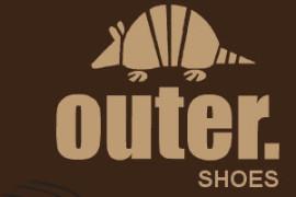 outer shoes leblon logo